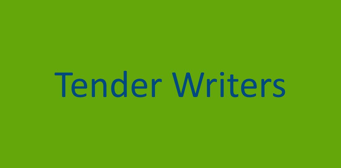 tender writer